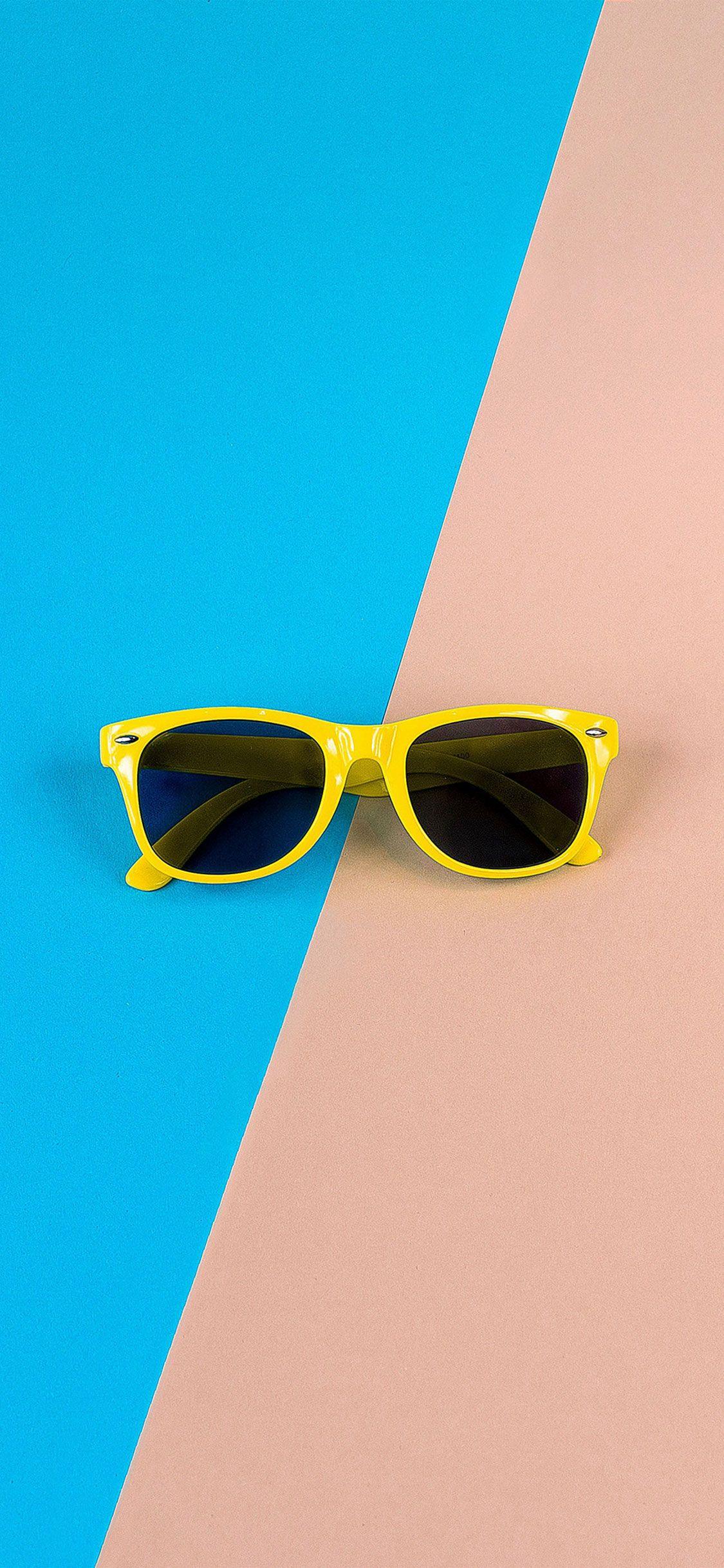 صور خلفيات ايفون X الجديد 2018 خلفيات Iphone X روعة بجودة عالية 4k عالم الصور Glasses Wallpaper Glasses Pink Yellow Iphone