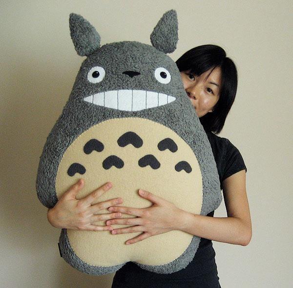 totoro plush! | Totoro pillow, Totoro plush, Totoro