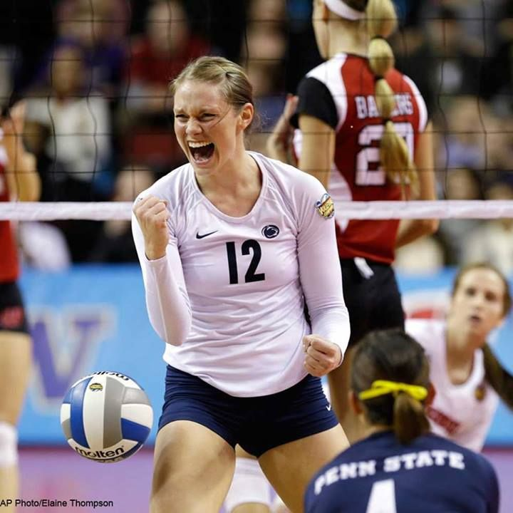 Penn State Women S Volleyball Wins 6th National Championship And 5th In Last 7 Years With 3 1 Victor Women Volleyball Penn State Volleyball Coaching Volleyball