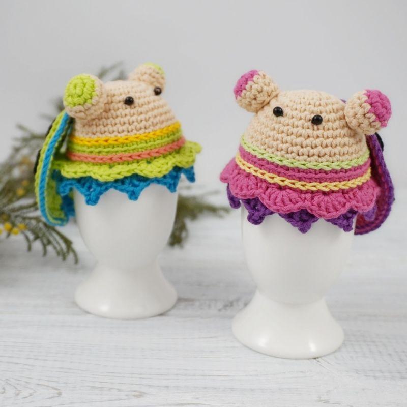 Egg Warmer Ladybug crochet pattern by TikvaPatterns | Bellisima ...