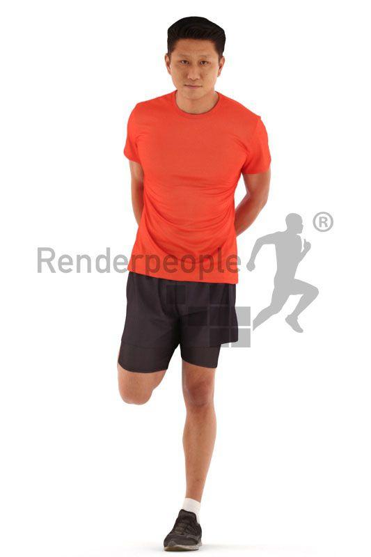 Manuel Rigged 001 | RENDERPEOPLE | Mens tops, Daily look