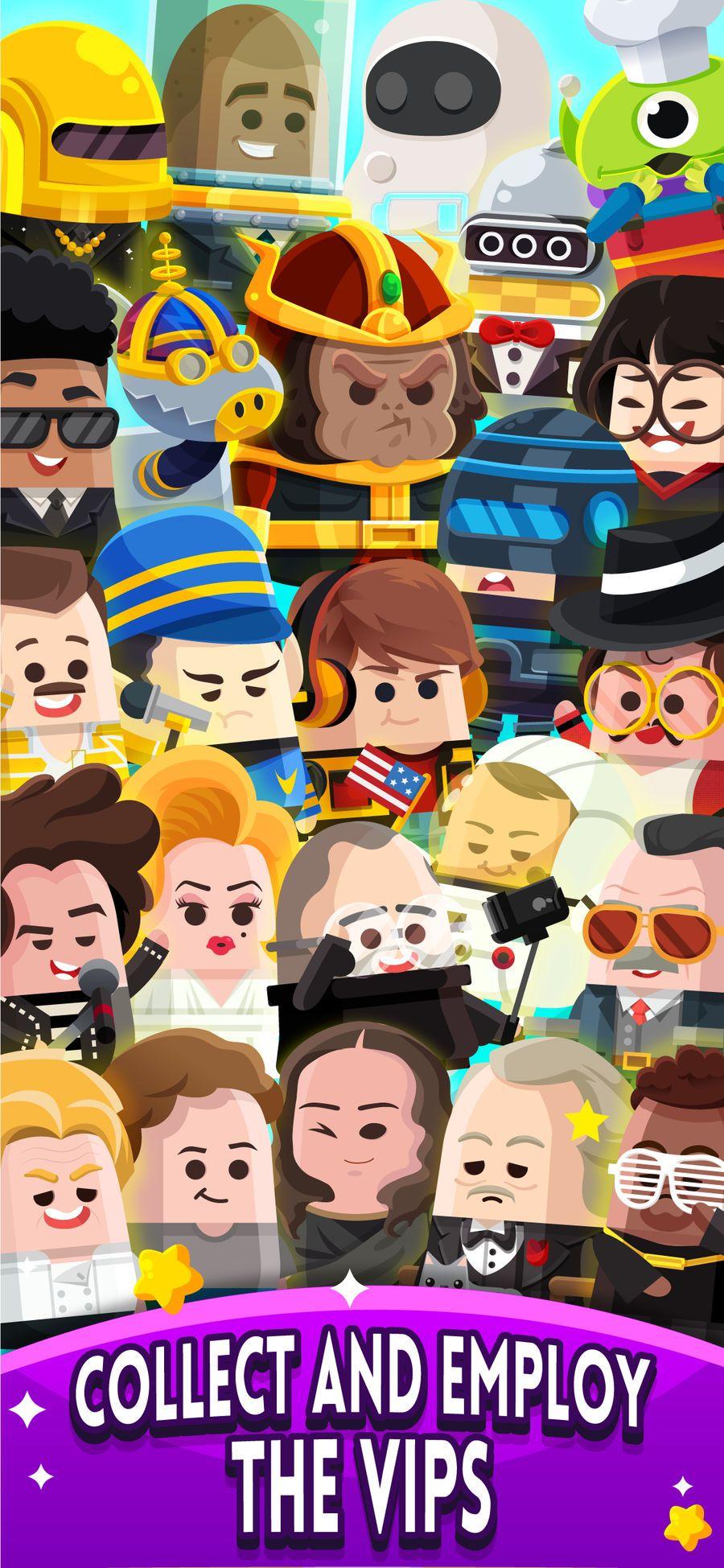 Cash, Inc. Fame Clicker games, App