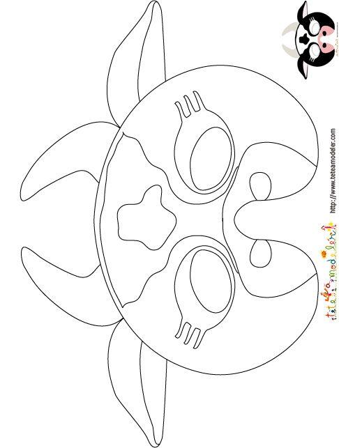 Imprimer le mod le du masque de vache colorier masque mask masque de vache d guisement - Vache a imprimer ...
