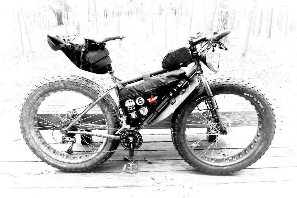 mtb thparkle surly moonlander - Mountain Bike Frame Bag
