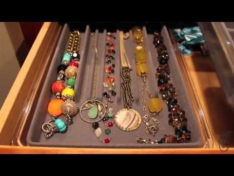 Jewerly organizers for your drawers Neatnix Jewelry Stax Style
