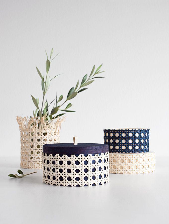 rohrgeflecht und holz f rben das kann man ganz einfach mit seidenmalfarbe damit lassen sich. Black Bedroom Furniture Sets. Home Design Ideas