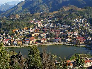 Lago de la ciudad de Sapa - (Lao Cai, Vietnam)