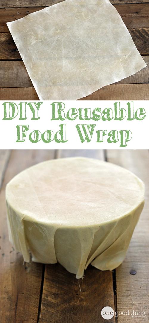 DIY Reusable Food Wrap