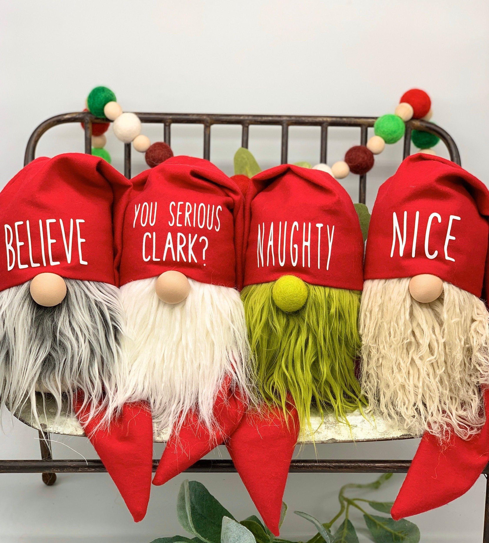Gnome Sayin Christmas Crafts Christmas Gnome Diy Holiday Decor