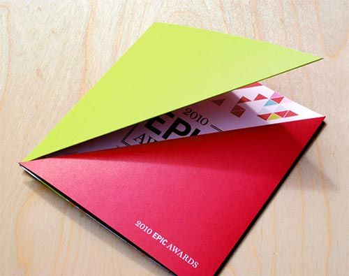 30 creative die cut brochure design design inspiration