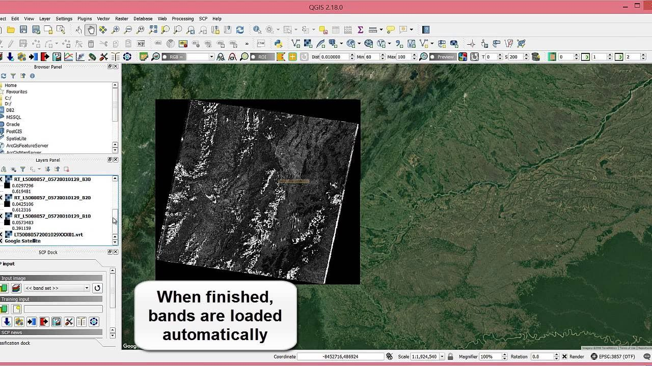 How To Automatically Download And Preprocess Landsat Sentinel 2 And Aster Imagery Plugins Imagery Image