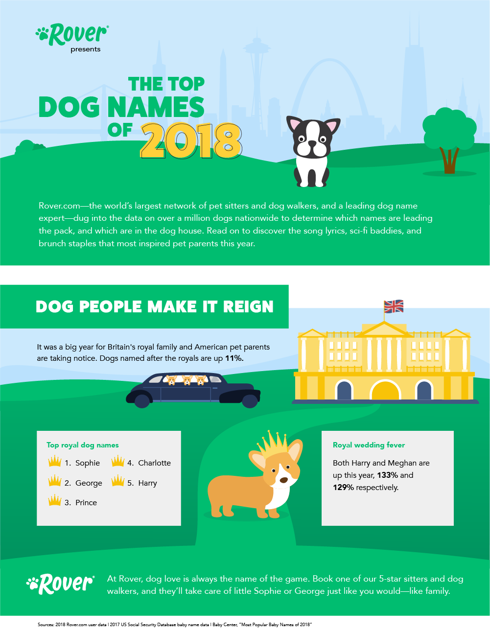The Top 100 Most Popular Dog Names In 2019 By Breed City And