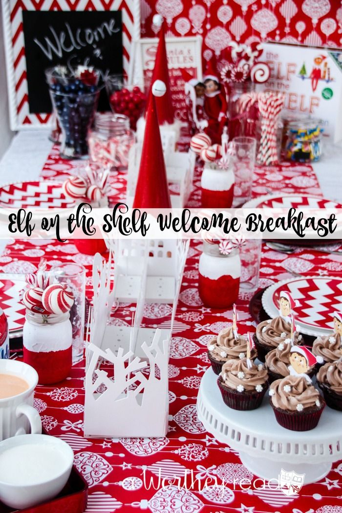 Elf on the Shelf Welcome Breakfast #northpolebreakfast