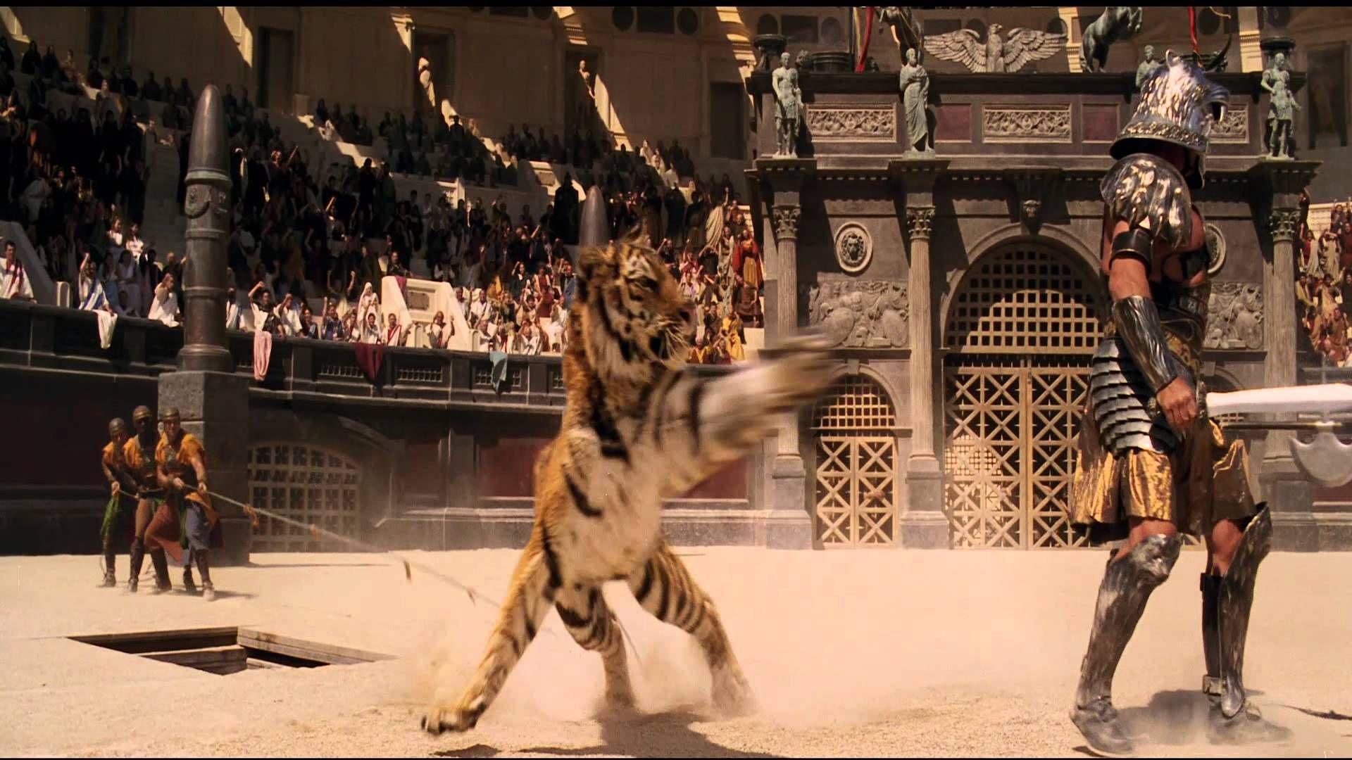 Gladiator Tigris Of Gaul Gladiator Movie Props Soldier