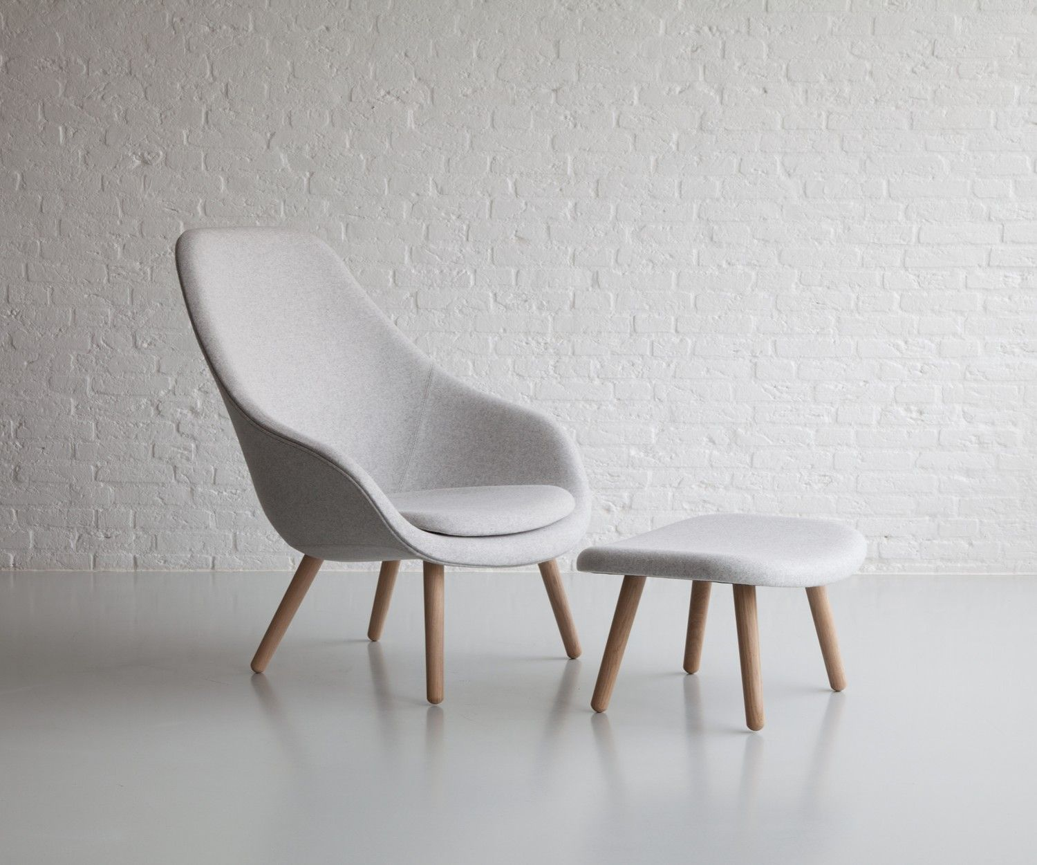 Hay Lounge Stoel.About A Lounge Chair Aal92 By Hay Office Decor Hay Chair Futon