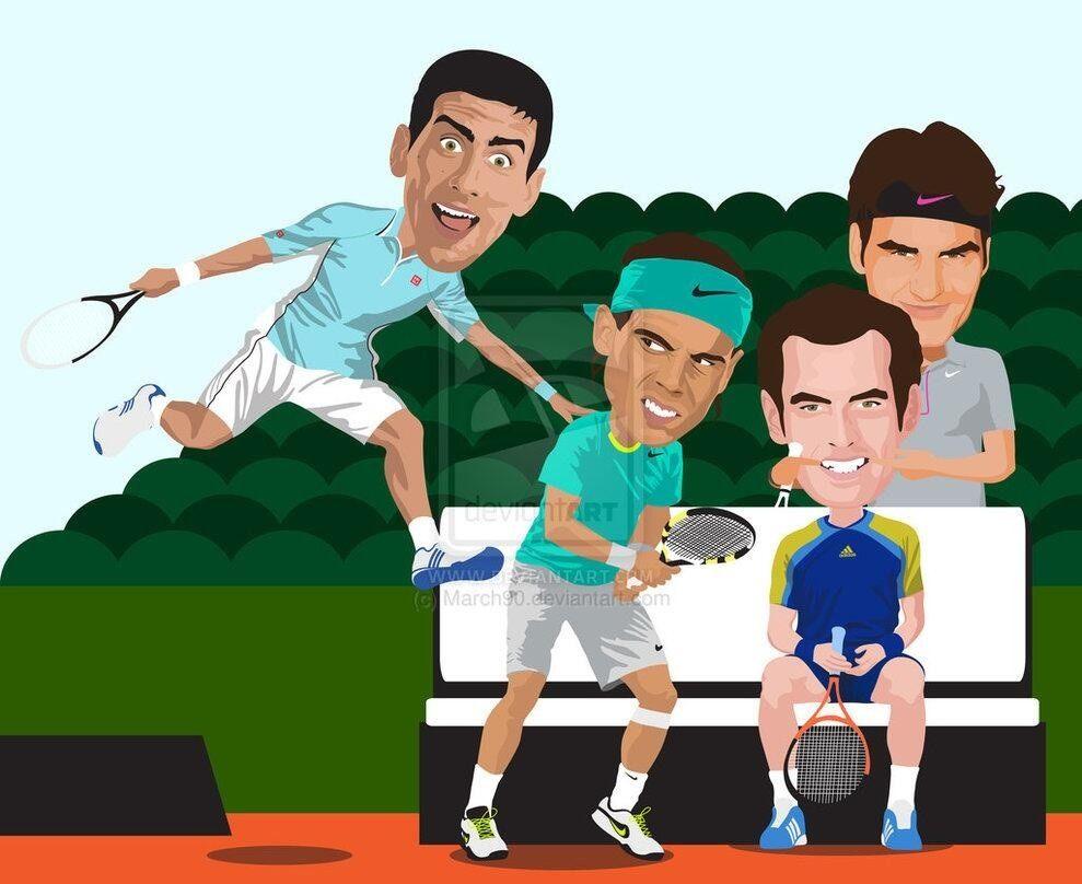 Funny Fotos 6 Page 307 Menstennisforums Com Tennis Art Roger Federer Tennis Players