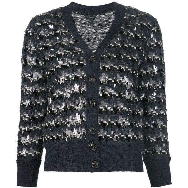 Marc Jacobs sequin embellished cardigan ($1,549) ❤ liked on ...