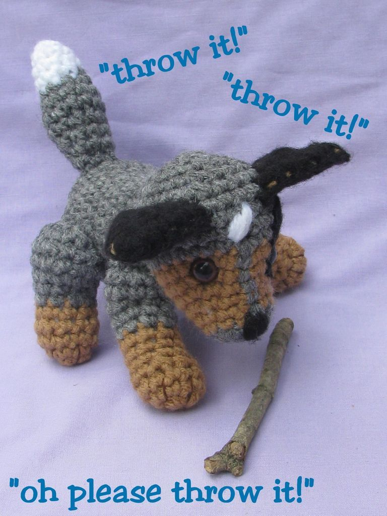 Image Result For Free Crochet Cattle Dog Pattern Blue Heeler Dogs Cattle Dog Australian Cattle Dog
