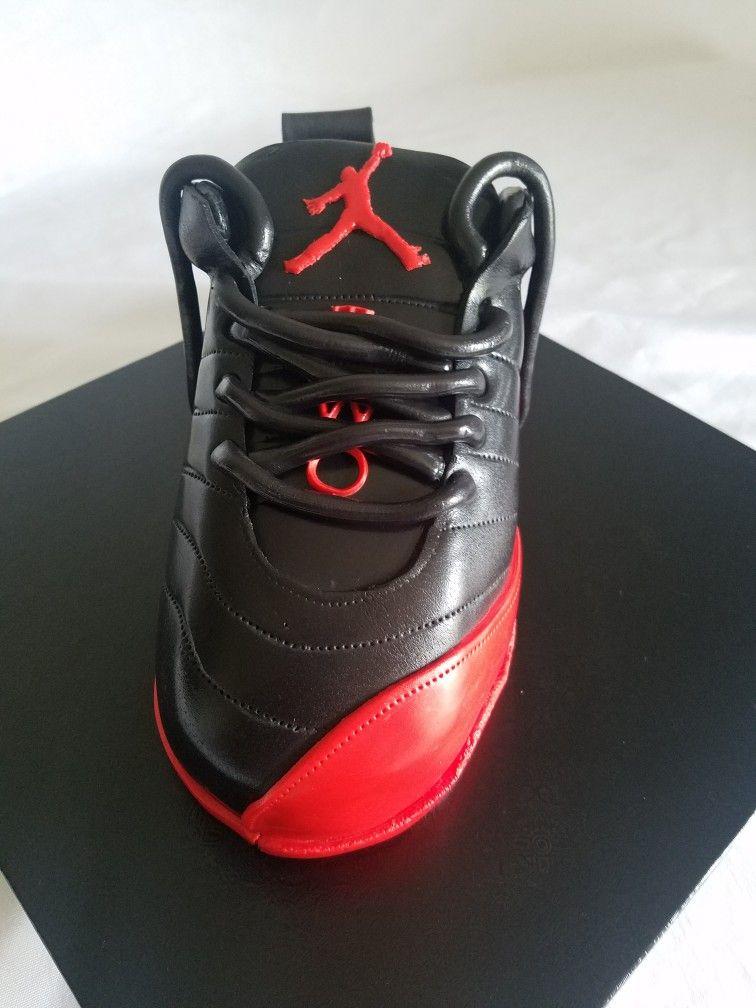 Jordan shoe cake #sylversweets
