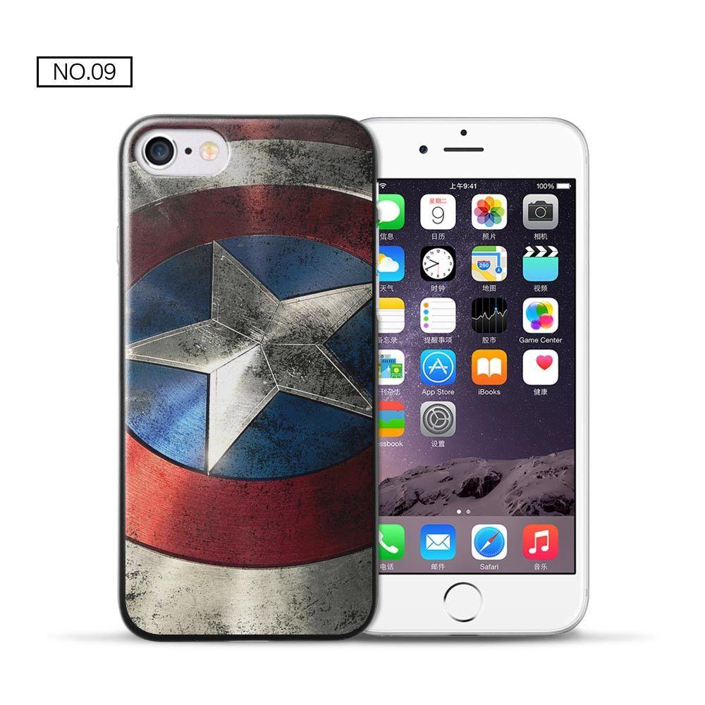 coque iphone 7 plus super heros