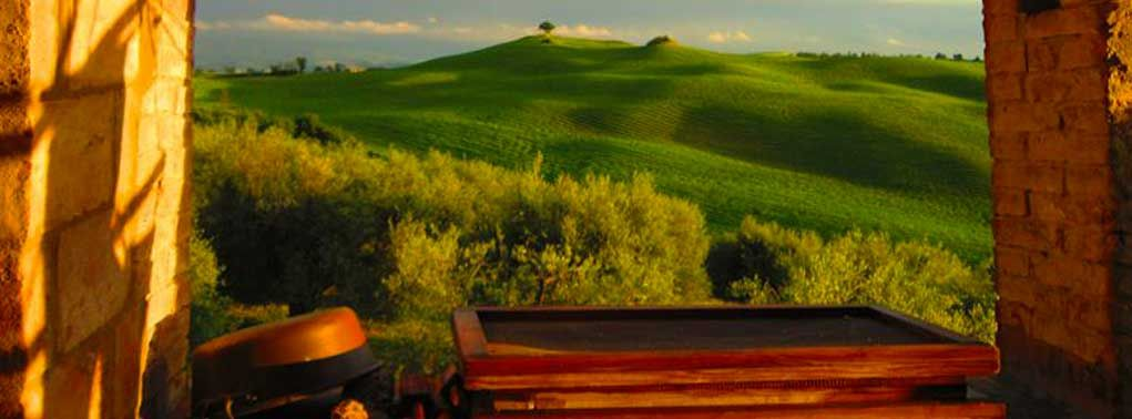 Podere Spedalone- Tuscan Organic farmhouse we went on trip to