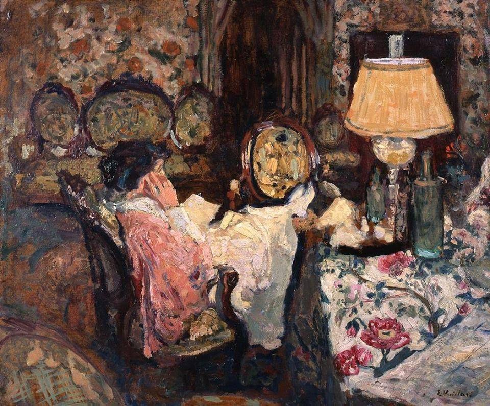 Douard vuillard madame hessel dans son salon saint for Nue dans son salon