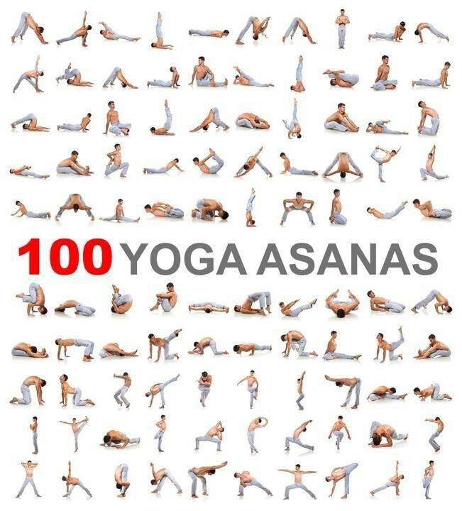 100 Yoga Asanas