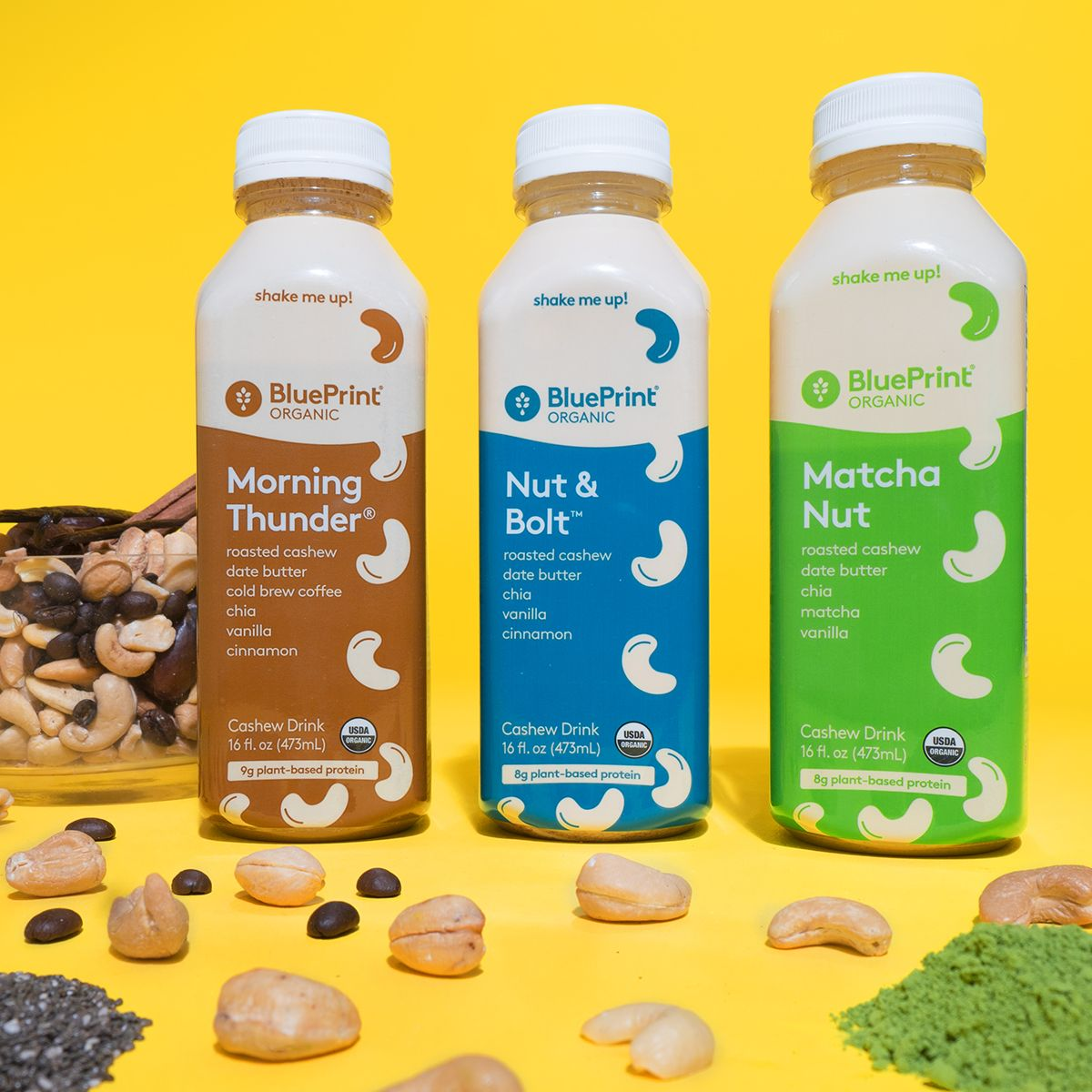 Big news our creamy delicious cashew milks are back youll back by popular demand blueprints naturally free cashew milks is packed with plant based protein to fuel your lifestyle malvernweather Image collections