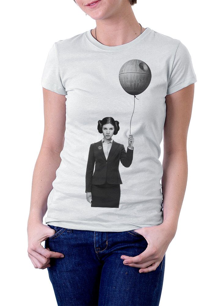 ff5f323c765 Keep on window shopping by visiting all of my Small-Budget Crushes. Women s  graphic tshirt - Princess Leia - star wars ...