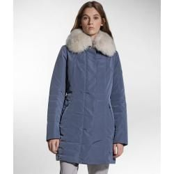 Photo of Slim fit jacket with fur collar PeutereyPeuterey