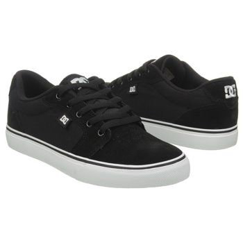 Athletics DC Shoes Men s ANVIL Black White FamousFootwear.com  21131b016207d