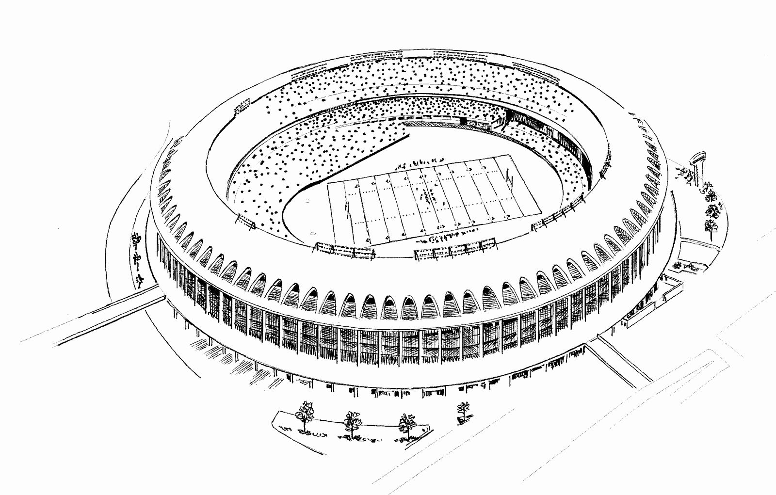 Cardinal Football Coloring Pages Elegant Baseball Field ...