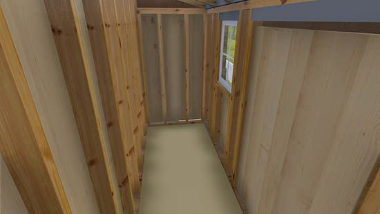 4x12 Lean To Shed Plan Lean To Shed Plans Shed Plan Simple Shed