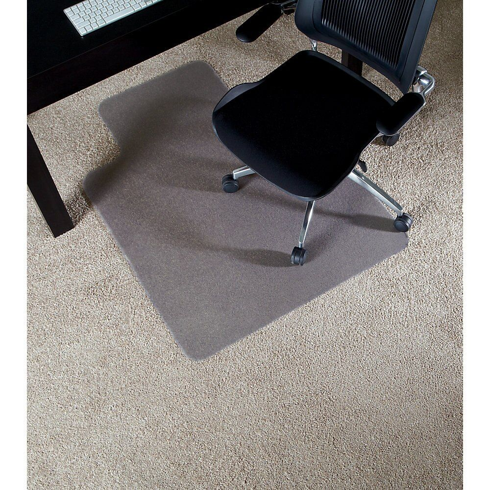 Deflecto Environmat Chair Mat For Low Pile Carpets 36 X 48 Standard Lip Clear Chair Mats Low Pile Carpet