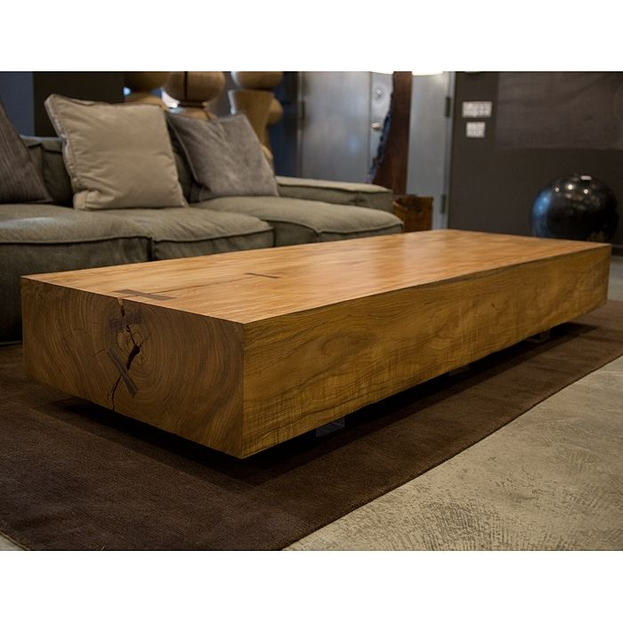 Beautiful Natural Wood Coffee Table