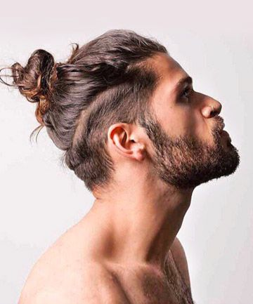 17 pics of insanely hot men who prove 2015 was the year of the man bun bun hair styles man. Black Bedroom Furniture Sets. Home Design Ideas