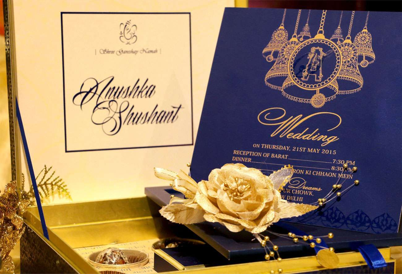 Blue Bell Wedding Card Designer Invitation By Vwi New Delhi Invitationcard Newdelhi