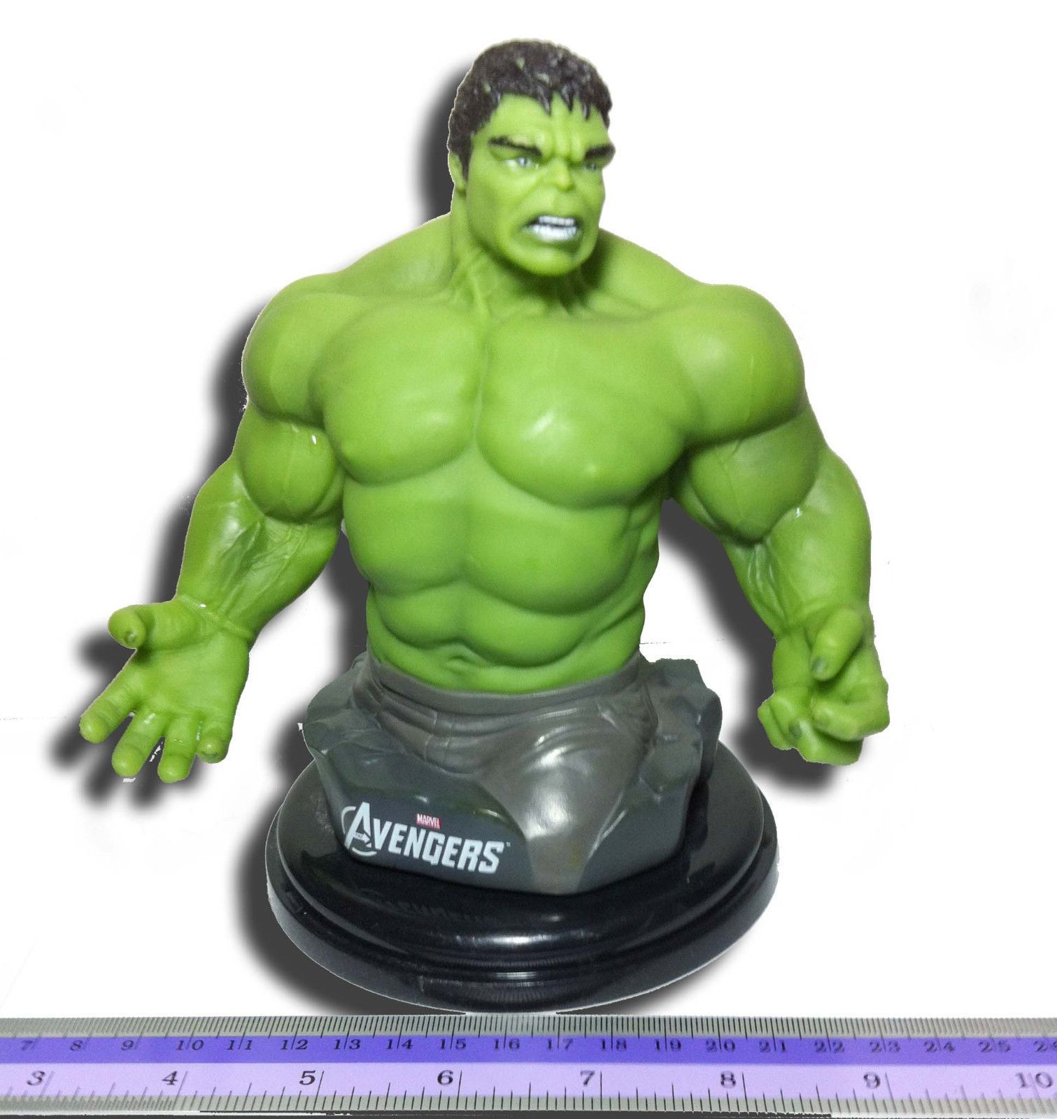 THE INCREDIBLE HULK 2008 TOPPER CUP FIGURE FROM THEATER ACTION ENTERTAINMENT