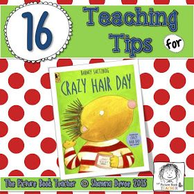 Crazy Hair Day by Barney Saltzberg - Teaching Ideas #crazyhairday
