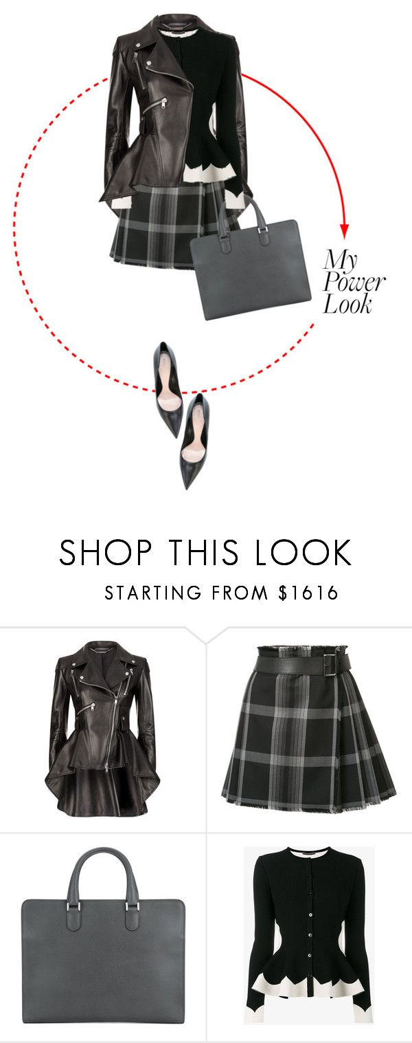 """Girl Power"" by sharmarie ❤ liked on Polyvore featuring Alexander McQueen and Valextra"