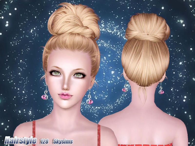 Skysims 128 The Sims 3 Hairstyles Sims 4 Sims I Sims