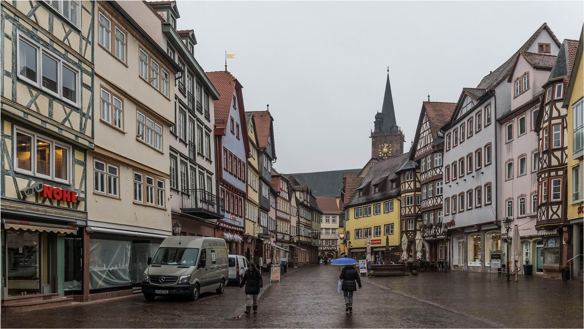 Street Photography : City Centre Wertheim am Main by quadrat_a https://t.co/qvVQhx6iTQ | #streets #photography #ph  #photography