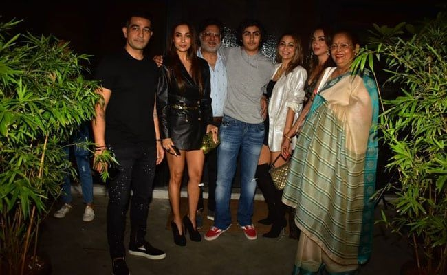 Inside Malaika Arora And Arbaaz Khan's Son Arhaan's Birthday Party. See Pics #17thbirthday Arhaan Khan celebrated his 17th birthday with family on Saturday #17thbirthday