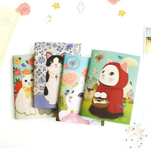 Brand New Jetoy Cute A6 Stitch Line Notebook (64 pages) - Choo Choo Mini note #Jetoy
