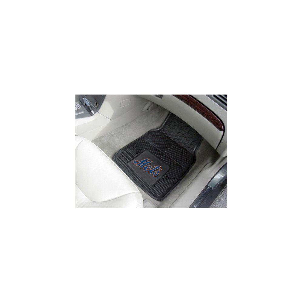 Mlb Fan Mats 2pc Vinyl Car Mat Set New York Mets With Images Car Mats Car Floor Mats Car