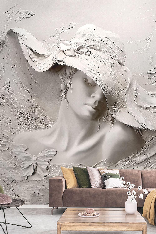 Optical of Texture 3D Wall Mural Wallpaper