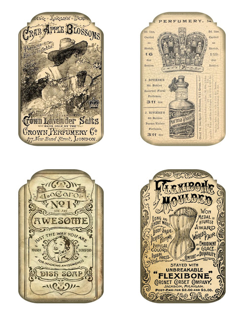 Bountiful Heirlooms Free Printables More Vintage Ad Tags Vintage Labels Printables Free Vintage Labels Printables Free Vintage Printables