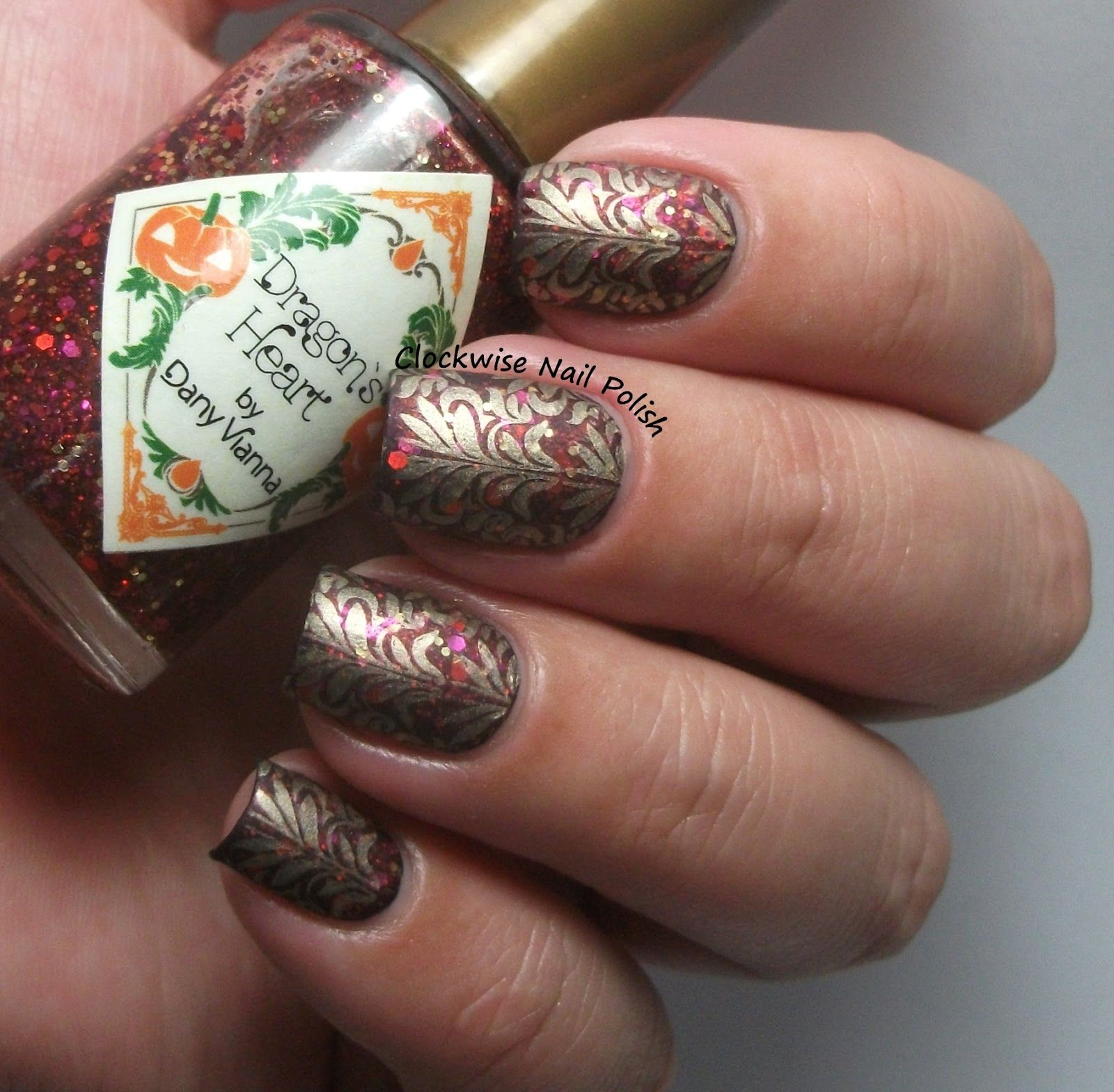 The Clockwise Nail Polish: Born Pretty BP-L007 Stamping Plate Review