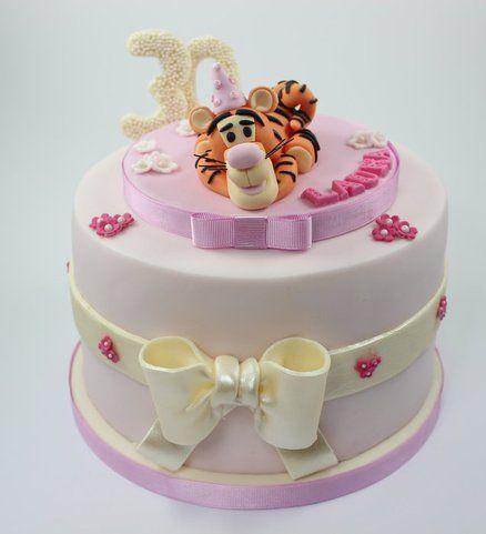 30th Tigger Cake Cake by looeze