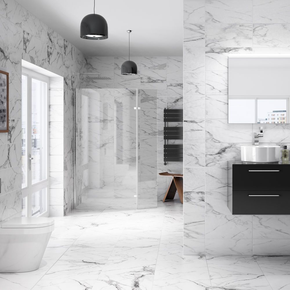Marble Arch Field Tiles (248 x 498mm) | Marbles, Bathroom inspo ...